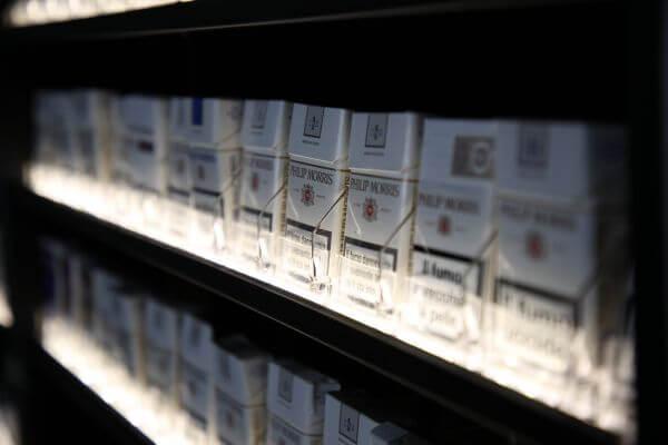 caratteristiche espositori sigarette