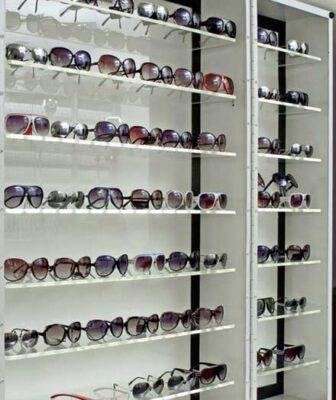 espositore occhiali centro ottica